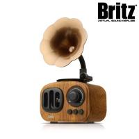 브리츠 엔틱디자인 블루투스 스피커 BA-MK2 (5W 사운드 / FM라디오 / 10M 무선컨트롤)