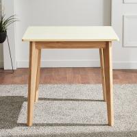 고무나무 2인식탁 테이블 FN701-1