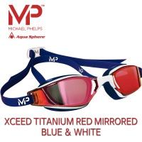 MP 마이클펠프스 엑시드 티타늄레드미러 BLUE & WHITE