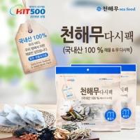 특허받은 해물&무 다시팩(15gx10팩)x3봉
