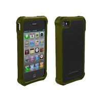 [충격완벽보호 볼리스틱 케이스] BALLISTIC SG For iPHONE 4&4S (Olive Green/Black) [완벽하게 스마트폰 보호 소재]