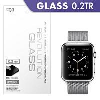 [프로텍트엠/PROTECTM] 애플워치 Apple Watch 레볼루션글라스0.2TR 강화유리 액정보호방탄유리/방탄필름