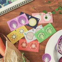 왈가닥스 채소 스티커(Vegetable Sticker)
