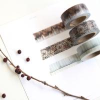 스포이드 겨울- 마스킹테이프
