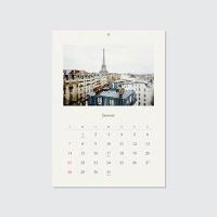 2018 calendar - Savouring the Seasons (벽걸이캘린더)