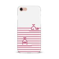 슬림 하드케이스 - 고래랑 물개랑 핑크