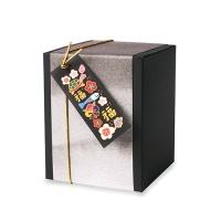 [인디고샵] 먹물 복 민화자수 직사각 [텍] (10개)