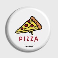 [어프어프] 손거울 Pizza-white