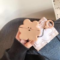 에어팟3 프로 곰돌이 젤리 케이스 키링_브라운168/PRO
