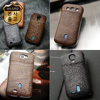 구형폰을 새폰처럼 마주로 빈티지1 통가죽 스마트폰케이스 카드포켓형 갤럭시S3 S4 Note2