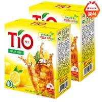 티오 아이스티 레몬40T 2개