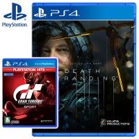 PS4 데스 스트랜딩 + 그란투리스모 스포트 PS HIT