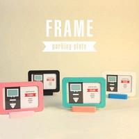 Frame phone number plate ver.2(핑크만)