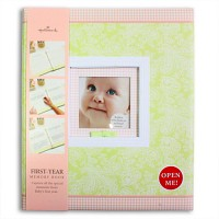 홀마크 베이비 메모리북 First Years Baby (BBA3800) - 첫 돌까지