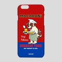 [어프어프] 하드케이스 macaroni dog-red