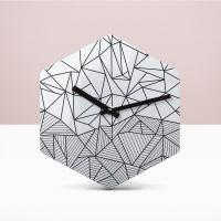리플렉스 헥사곤 무소음벽시계 POE44HX