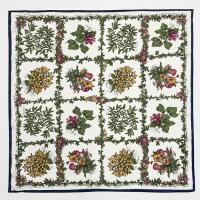 Flower Cube Square Scarf
