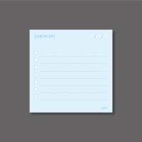 [mmim] 단메모지 (9) CHECKLIST