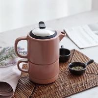 [N365] 푸코 도자기 티팟 n 컵 SET