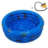 [무료배송]0cm 미니 유아전용 풀장+발펌프