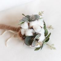 [콩지] 목화 유카리 부케