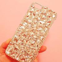 핸드메이드 쥬얼리 화이트 크리스탈(LG G8)