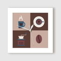 ct826-심플카페아이콘_미니액자벽시계