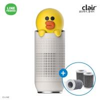 [클레어] 라인프렌즈 샐리 차량용 공기청정기