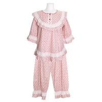 [쿠비카]고밀도 면 7부 투피스 여성잠옷 W716
