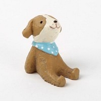 Resin animal - 09 Muffler Dog