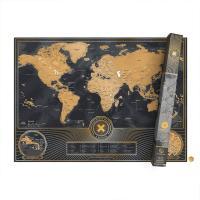 [럭키스] 영국 정품 스크래치 맵 세계지도 X 에디션