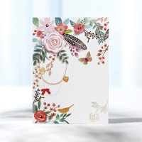 꽃잎 카드 FT1514-4