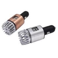 터치미에어 자동차용 공기청정기/USB충전포트 2개