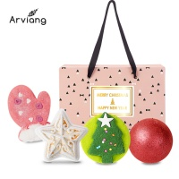 [아르비앙] 핑크 선물세트 4구-F /거품입욕제