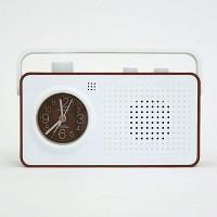 레트로 라디오 알람시계