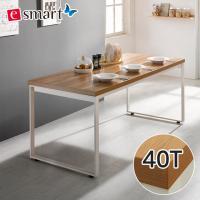 [e스마트] 스틸헤비 테이블 1600x800 (사각다리) / 상판두께40T