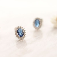 Blue Water earring