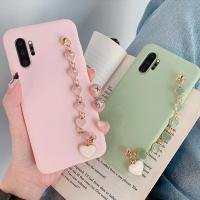 갤럭시S9/S9플러스 쥬얼리 스트랩 젤리 핸드폰 케이스