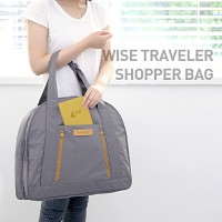 WISE TRAVELER SHOPPER BAG 여행용 쇼퍼백