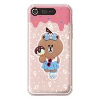 라인프렌즈 iPhone7 CHOCO ICECream-AS LIGHT CASE