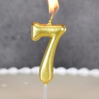 숫자초 골드 7