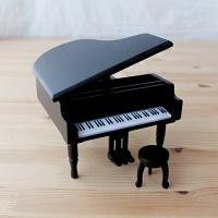 그랜드 피아노(블랙) 오르골