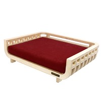 PET LOUNGER_RED