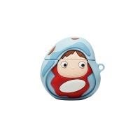 에어팟 1/2 캐릭터 케이스 고리 세트_물고기소녀 256