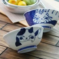일본식기 블루네코 일본 라면기