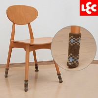 [LEC] 논슬립 의자다리 커버 8P(체크 브라운) [O-633]