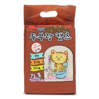 두부랑캣츠 고양이 모래 프리미엄 커피 7L 6포대 세트