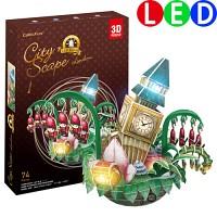 [3D퍼즐마을][OC3211L] 시티스케이프-런던, LED (City Scape-London)