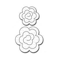 다이 Mini Rolled Roses