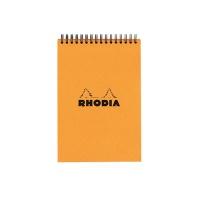 [로디아]스프링 노트패드 A6(오렌지) 격자 13500